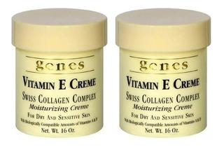 2 Cremas Genes Vitamina E 453 G