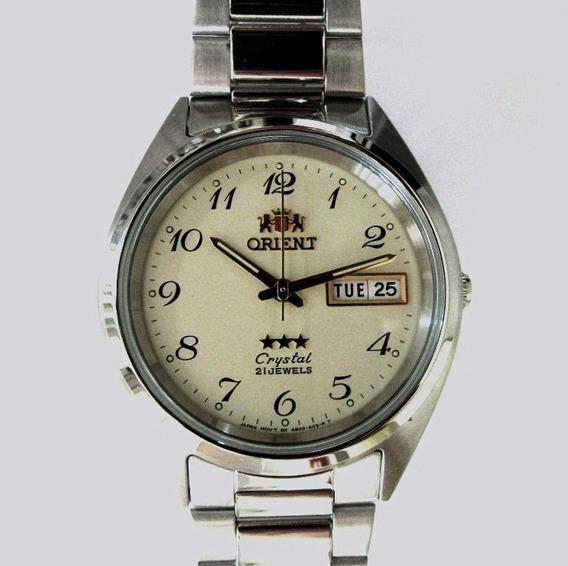 Relógio Orient Automático Model Médio Tradicional Fab00003c9