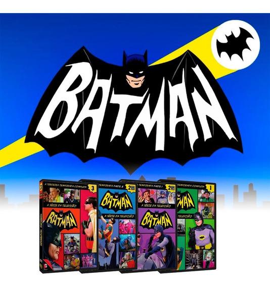 Dvd Batman A Série De Tv Completa + Filme O Homem Morcego
