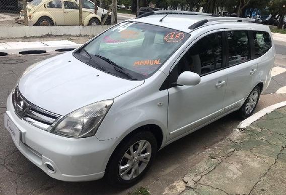Nissan Grand Livina 2014 1.8 S Flex 5p