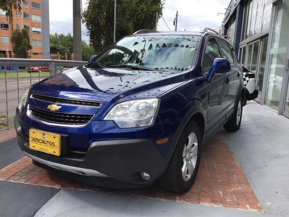 Chevrolet Captiva 2013 Azul