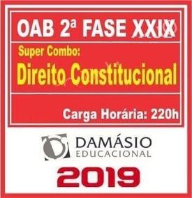 2ª Fase Oab Xxix Direito Constitucional