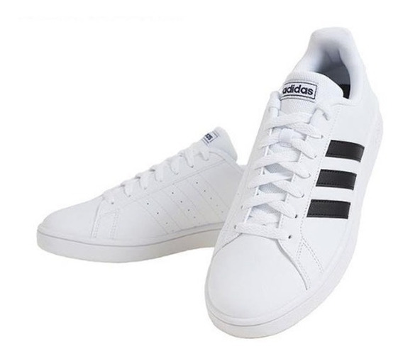 Tenis Urbano adidas Grand Court Base Blanco Ó Negro