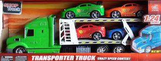 Camión De Transporte De Juguete - Toy Transporter Truck