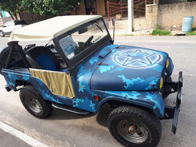 Jeep Willys Raridade Todo Original (vendo Ou Troco)