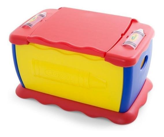 Baúl Juguetero Crayola Infantil 2 En 1 (5019) Unisex