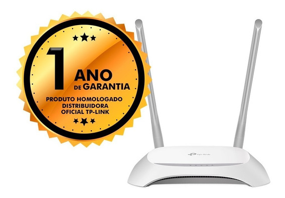 Roteador Wifi Wireless Tp-link 300mbps 2 Antenas Tl-wr849n