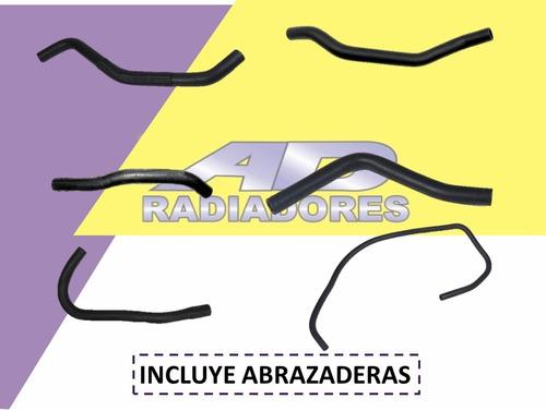 Kit Mangueras Agua Ford Fiesta 1.6 Rocam C/abrazaderas