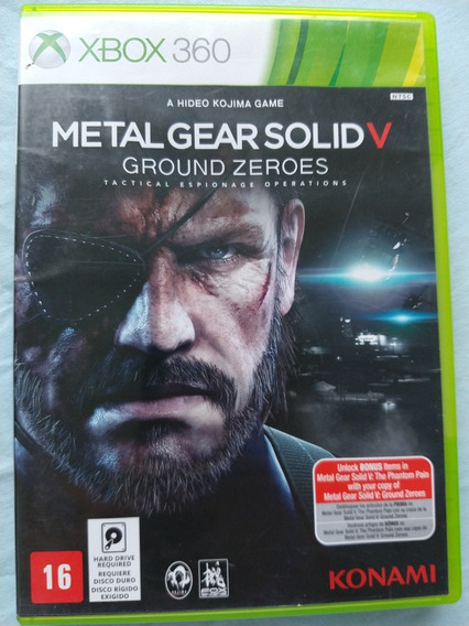Metal Gear Solid V Xbox 360