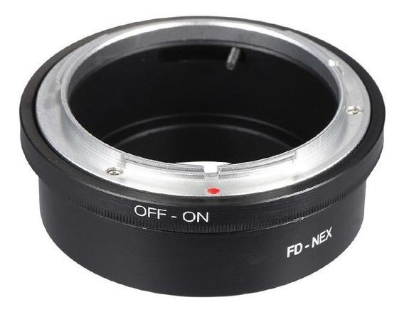 Anel Adaptador Lente Canon Fd Fl Fd-nex Sony Nex-7 6 5 3 C3