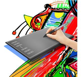 Huion H1060p Battery Free Stylus Pen Graphics Tablet Digital