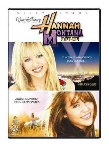 Dvd Hannah Montana - O Filme + Camiseta - Edição Limitada**