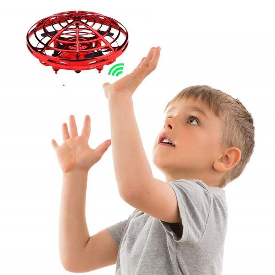 Mini Drone Disco Voador Ufo Interactive Barato Infantil
