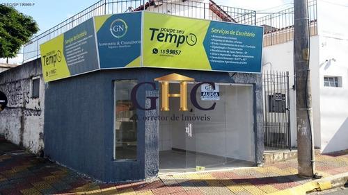 Alugo - Salão Comercial - Centro - Salto De Pirapora/sp. Em Frente Ao Ciretran - Alto Fluxo De Pessoas. - Sl00003 - 34977557