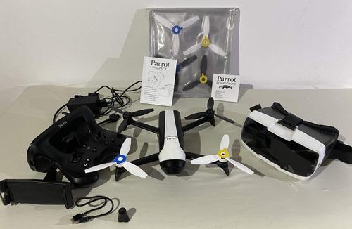 Drone Parrot Bebop 2 Fpv + Hélices De Repuesto. Impecable
