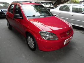 Chevrolet Celta 1.0 Spirit Flex Power 2009 Vermelho