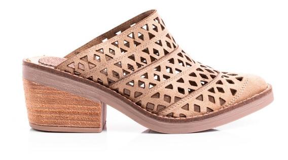 Zapato Zueco Mujer Botas Texanas Botinetas Cuero Pu Taco Cuadrado Caladastachas
