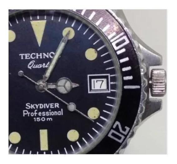 Relógio De Pulso Technos Skydiver 150m U01550 Webclock