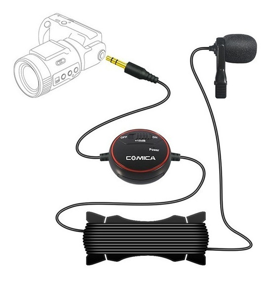 Lapela V03 Para Câmera, Gopro, Câmera E Smartfone