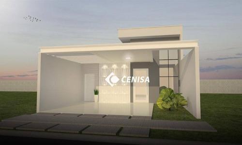 Imagem 1 de 26 de Casa Com 3 Dormitórios À Venda, 100 M² - Condomínio Park Real - Indaiatuba/sp - Ca2561