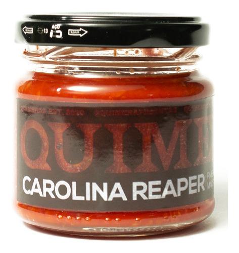 Pimenta Nuclear Carolina Reaper 150ml Com Especiarias.