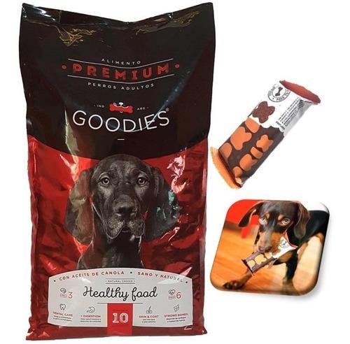 Imagen 1 de 10 de Alimento Balanceado Premium Perro Goodies 10kg Bolsa Grande