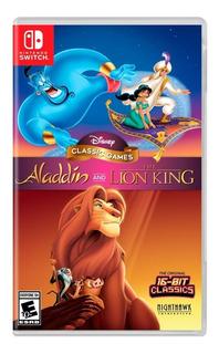 Disney Classic Games Aladdin An The Lion King Nsw