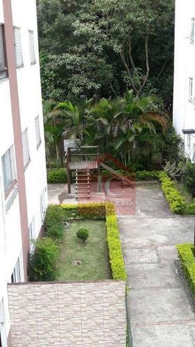Apartamento Com 2 Dormitórios Para Alugar, 47 M² Por R$ 1.300,00/mês - Jardim Central - Cotia/sp - Ap0537