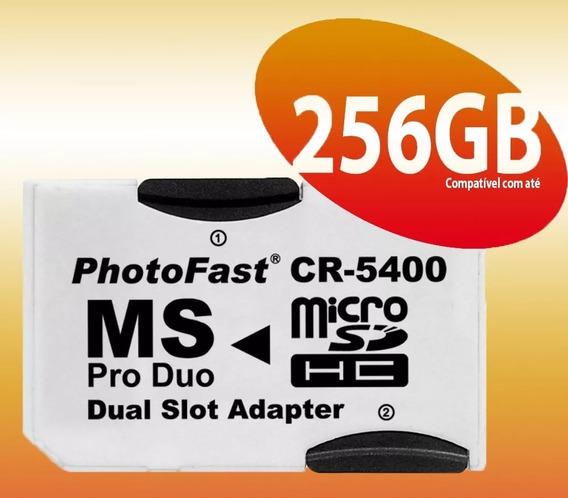Adaptador Dual Micro Sd P/pro Duo-cr-5400 - Carta Registrada