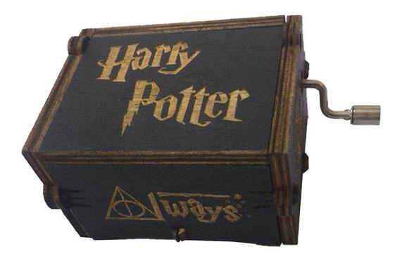 Creativa Caja De Música De Madera Manivela (harry Potter) -