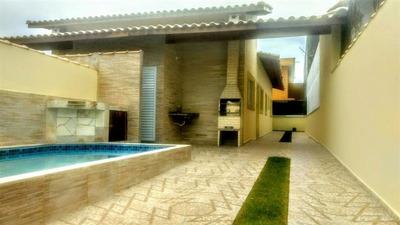 Casa Com Piscina Em Itanhaém-sp Use Seu Fgts