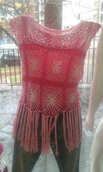 Remera Tejida A Crochet