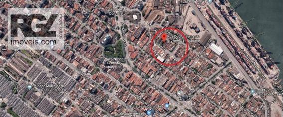 Terreno À Venda, 1184 M² Por R$ 2.900.000 - Estuário - Santos/sp - Te0098