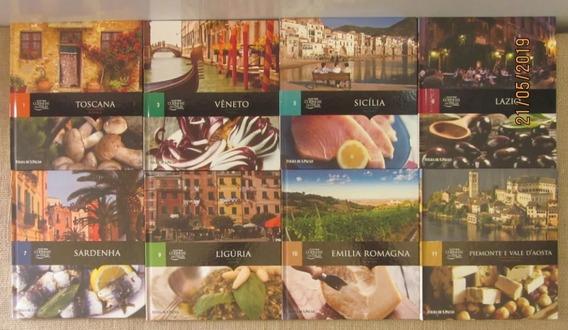 Livros Coleção Folha Cozinhas Da Itália 16 Volumes