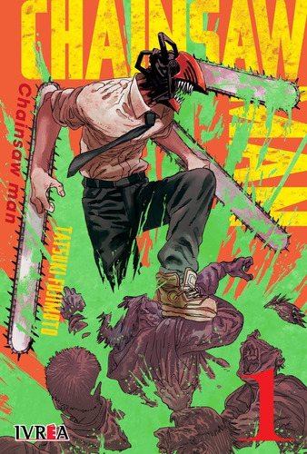 Chainsaw Man 01 (nueva Serie) - Manga - Ivrea