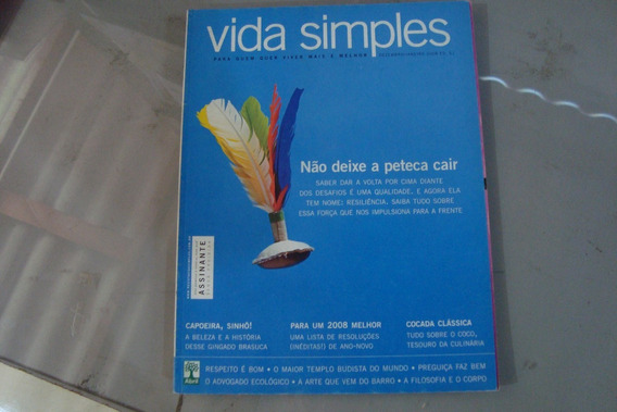 Revista Vida Simples 61 / Nao Deixe A Peteca Cair Cocada