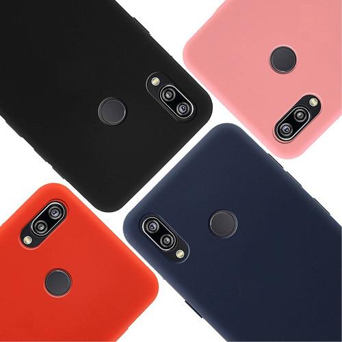 Protector De Silicona Colores Pastel Huawei Y7 2019 ®