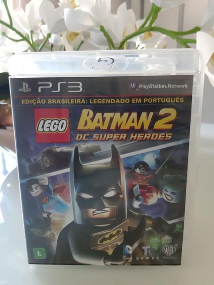 Lego Batman 2 Ps3 Midia Fisica