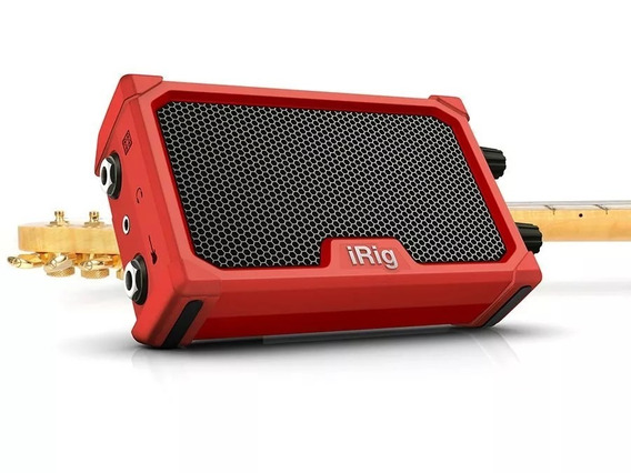 Micro Amp Ik Multimedia Irig Nano Amp Red C/ Interface