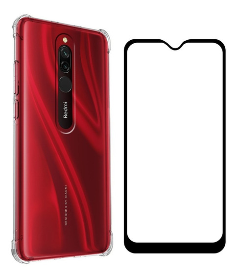 Funda Xiaomi Case Transparente Uso Rudo Mica Cristal 5d