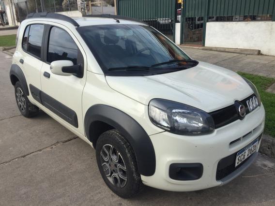 Fiat Uno Way 1.4 2017 Nafta,71.200 Km,único Dueño,10.200 Usd