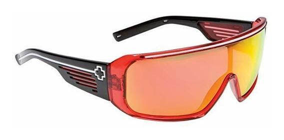 Óculos Sol Spy Optic Tron Armação Verm Lentes Spectra Raro!!