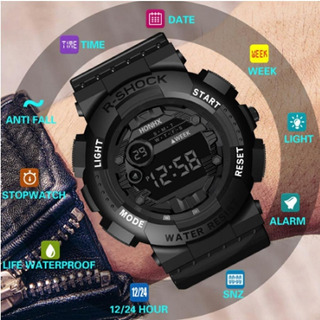 Relógio Digital De Alarme À Prova D