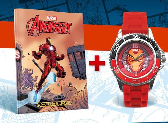 Reloj Marvel Nº3 - Iron Man