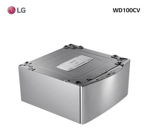 Imagen 1 de 5 de Lavarropas Twinwash Mini Inverter LG 3,5kg Wd100cv