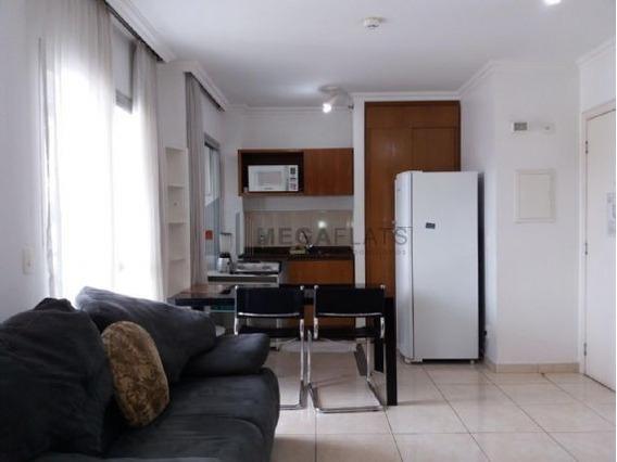 04444 - Flat 1 Dorm, Bela Vista - São Paulo/sp - 4444