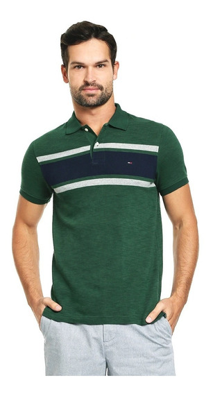Playera Polo Tommy Hilfiger Slim Fit Hombre 100% Original