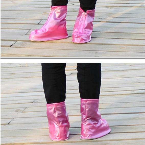 Zapatos Unisex Protector Impermeable De Lluvia De Alta Calid