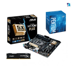 Kit Intel Pentium G4560 H170m Plus 8gb Fury Ddr4 2400mhz I