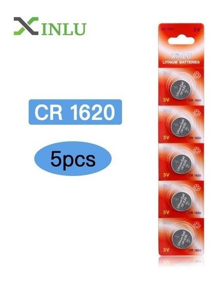 Bateria Pilha Cr1620,cr1620,cartela 5 Unidades 100% Original